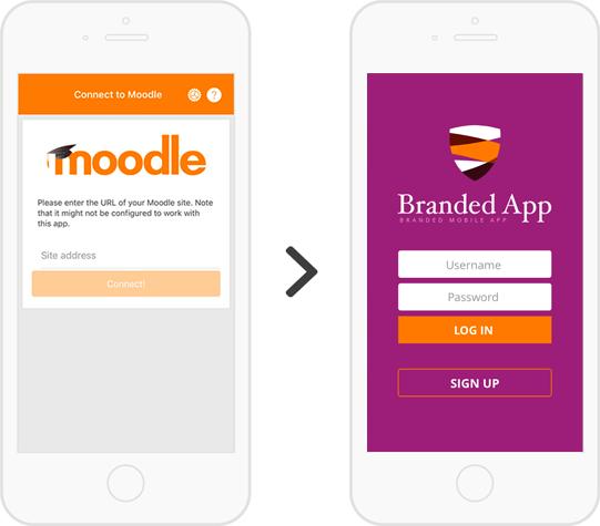 Moodle Branded App